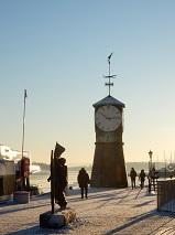 4-009 オスロ湾の有名時計台.JPG